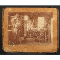 Early Pearl Beer Brewery Photograph