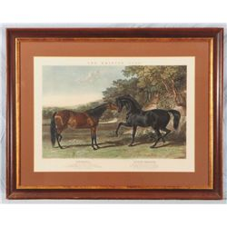 J.F. Herring  The British Stud  Litograph