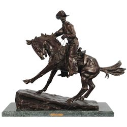 Frederic Remington  Cowboy  Bronze