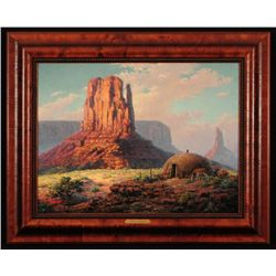 Dalhart Windberg Oil Painting Monument Valley
