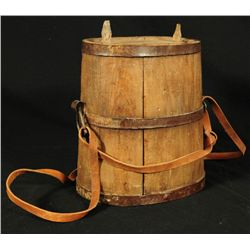 Antique Mexican Army Officer's Water Canteen