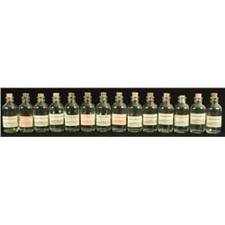Collection of 14 Bastrop, Texas Pharmacy Bottles