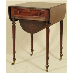 Drop Leaf English Tea Table