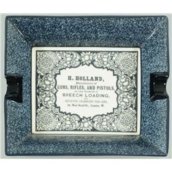 Holland & Holland Gun Advertising Cigar Tray