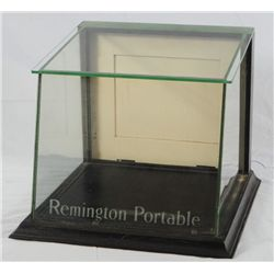 Remington Portable Countertop Glass Display Case