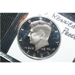 2003 Silver Kennedy Half Proof