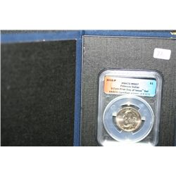 2010-P Fillmore Dollar ANACS Graded MS67 3 Coin First Day of Issue