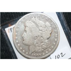 1883-CC Silver Carson City Morgan Dollar