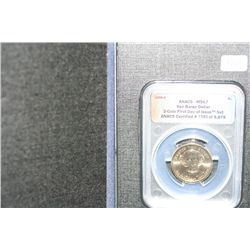 2008-D Van Buren Dollar ANACS Graded MS67  3-Coin First Day of Issue