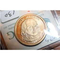 2007-S  James Madison Dollar