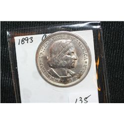 1893 Columbian Expo Half Dollar