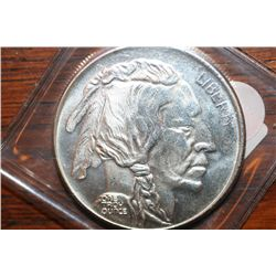 One Troy Oz Silver Buffalo Round