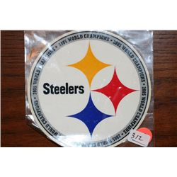 2005 World Champions Steelers Decal