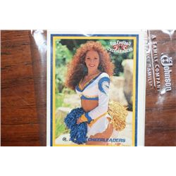 Lot of Ten Cheerleader Trading Cards