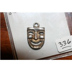 "Sterling Silver ""Laugh Now"" Charm"