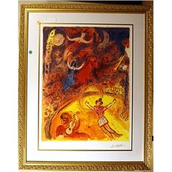 Chagall - Circus - Limited Edition