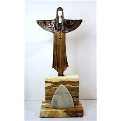The Creed - Bronze and Ivory Sculpture by Chiparus