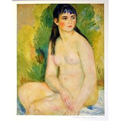Limited Edition Renoir- The Bather - Collection Domaine Renoir