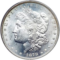 1878 Morgan $1. 8 Tail Feathers