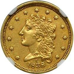 1838-C $2.50 Classic Head