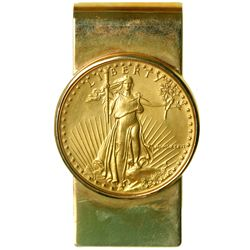 1986 $50.00 (1 oz) Gold Eagle Money Clip