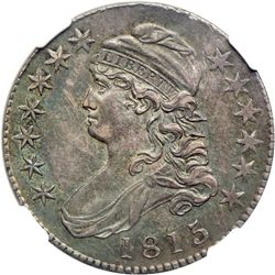 1815/2 Capped Bust Half