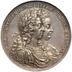 Great Britain. Medal, 1691. NGC MS63