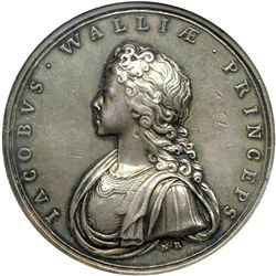 Great Britain. Medal, 1697. NGC AU55