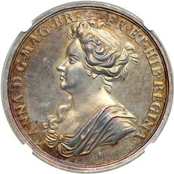 Great Britain. Medal, 1708. NGC MS64
