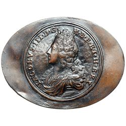 Great Britain. Snuff Box Lid, ND (1712). AEF