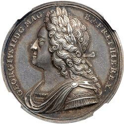 Great Britain. Coronation Medal, 1727. NGC MS63