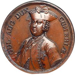 Great Britain. Medal, 1745. NGC MS63