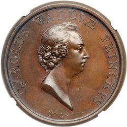 Great Britain. Medal, 1745. NGC MS65