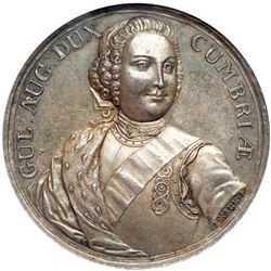 Great Britain. Medal, 1746. NGC AU58
