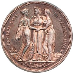 Great Britain. Fantasy Three Graces Crown, 1911. AU