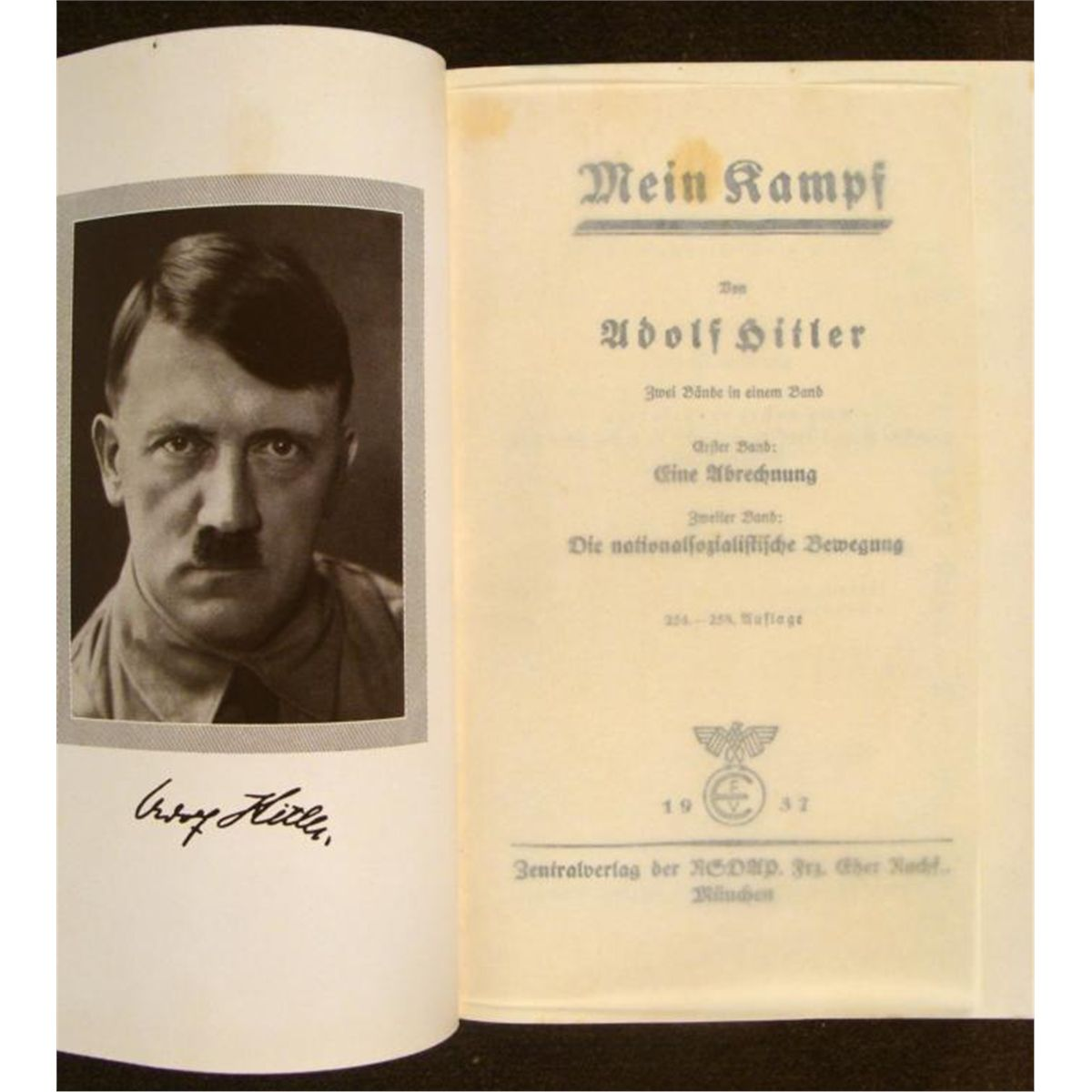 """mein kampf Berlin -- an annotated edition of """"mein kampf,"""" adolf hitler's notorious  manifesto, has become a non-fiction best-seller in germany."""