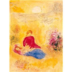 Flight Of The Cicade- Chagall - Limited Edition on Canvas