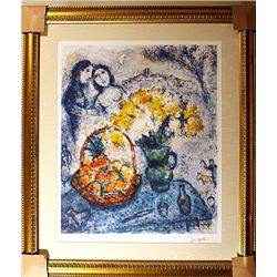 Chagall - Bouqet of Yellow Flowers - Limited Edition