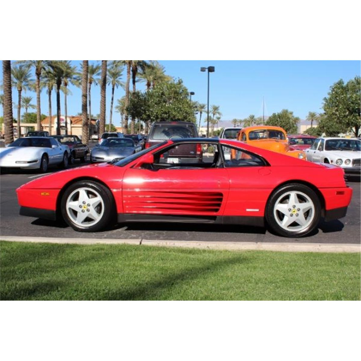 Ferrari Starting Price: 1989 FERRARI 348TS