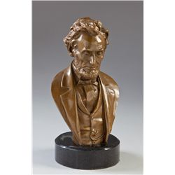 Bronze Bust State of Pres. Lincoln