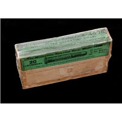 Antique Box of Winchester .40-70 Cal. Cartridges