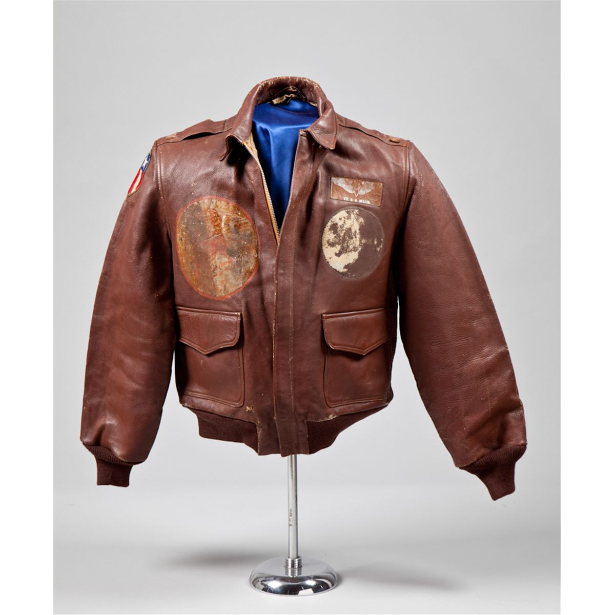 Named Australian Made WWII A-2 Flight Jacket