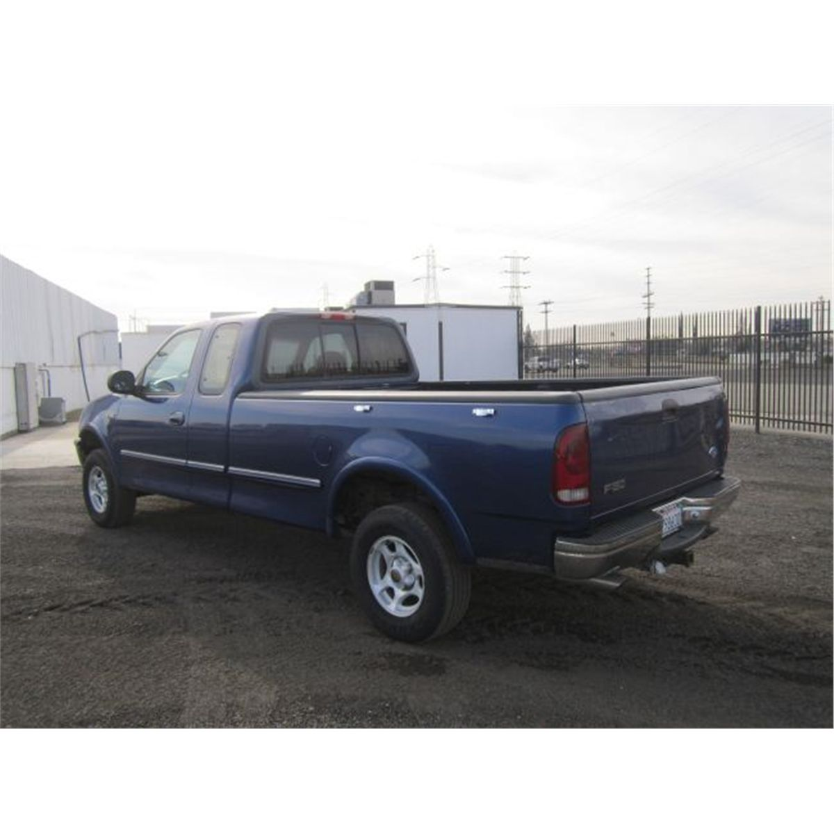 1996 ford f150 extended cab 4x4 pickup truck. Black Bedroom Furniture Sets. Home Design Ideas