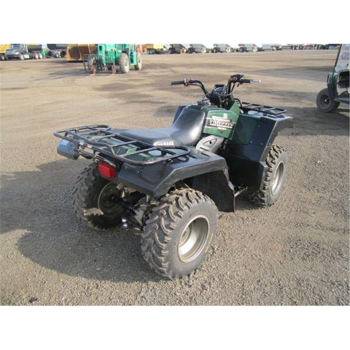 2001 yamaha grizzly 600 4x4 atv for Yamaha grizzly 600