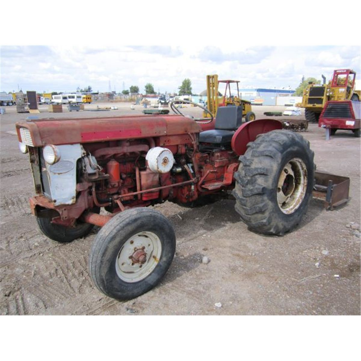 Ih 460 Utility Tractor : International harvester diesel utility ag tractor