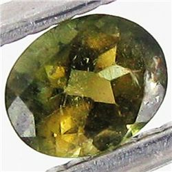0.51ct Chrome Green Tourmaline Oval (GEM-40756)