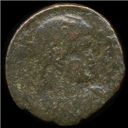 300AD Roman Bronze Coin Higher Grade (COI-9157)