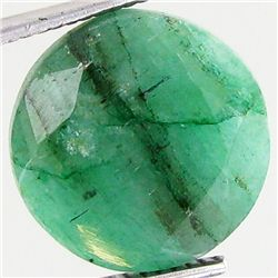 14.24ct Excellent Round Cut S. American Emerald (GEM-21709)
