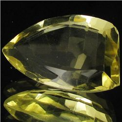 24.9ct Untreated Natural Lemon Citrine Fancy (GEM-39519)