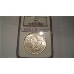 1881-S Morgan Dollar MS63 NGC